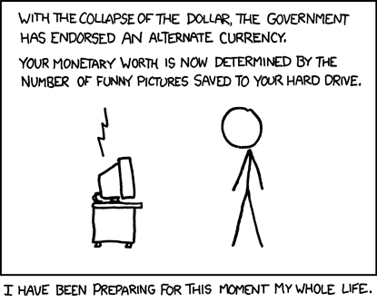 Randall Munroe. Alternate Currency.